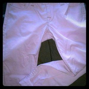 Pink capris